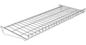 Wire Chip Shelves